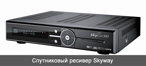 Ресиверы Skyway. Купить спутниковый ресивер Skyway.